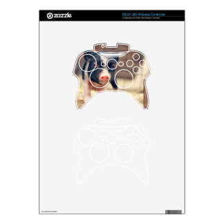 Piebald Pig puppy for Pig Lovers Xbox 360 Controller Skin