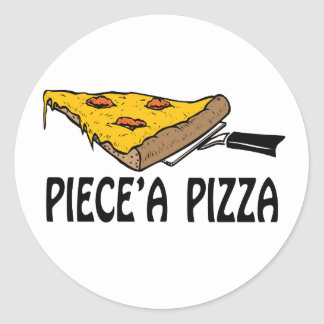 Piece A Pizza Sticker