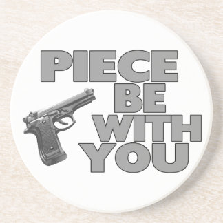 Piece Be With You Drink Coaster