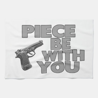 Piece Be With You Hand Towel