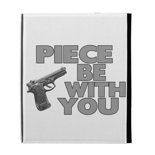 Piece Be With You iPad Folio Case