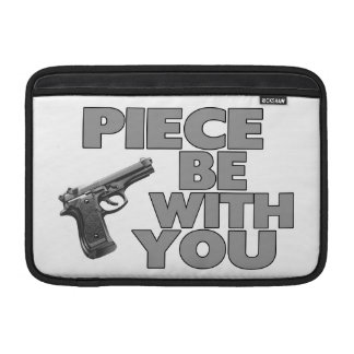 Piece Be With You MacBook Air Sleeve