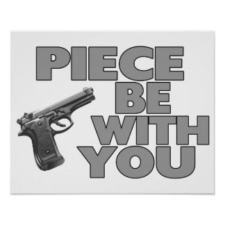 Piece Be With You Poster