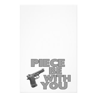 Piece Be With You Stationery
