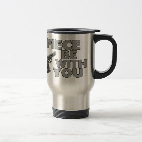 Piece Be With You Travel Mug