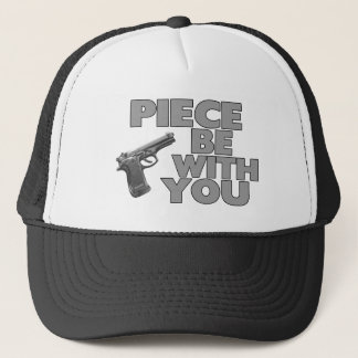 Piece Be With You Trucker Hat