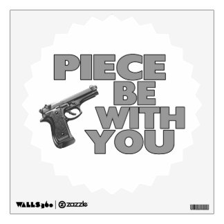 Piece Be With You Wall Decor