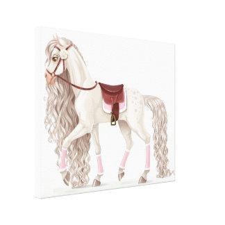Pièce de Résistance for Your Pampered Princess Canvas Print