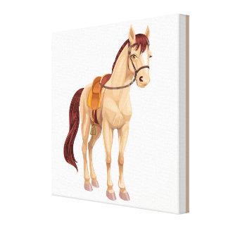 Pièce de Résistance Pony for Your Princess Canvas
