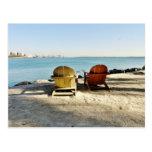 Piece in Downtown Miami Postcard