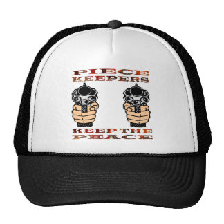 Piece Keepers Keep The Peace Trucker Hat
