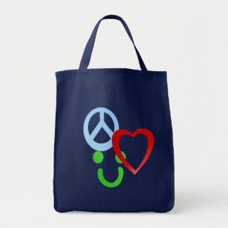 Piece, Love, Happiness Bag