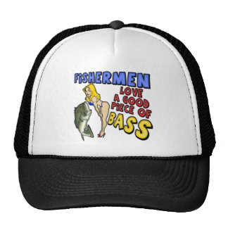 Piece Of Bass Fishing T-shirts and Gifts Trucker Hat