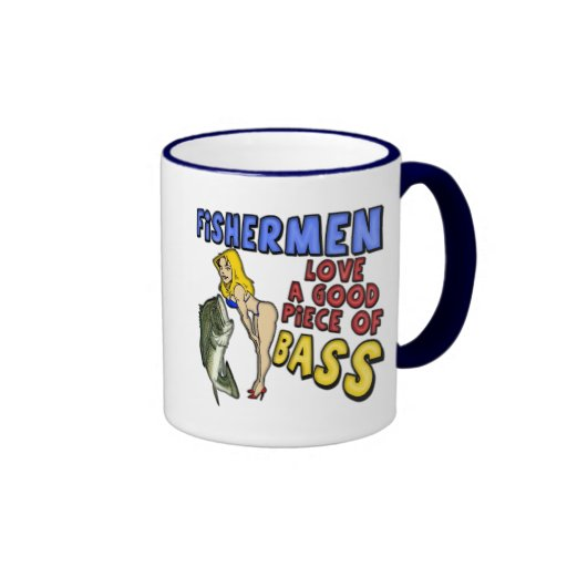 Piece Of Bass Fishing T-shirts and Gifts Mugs