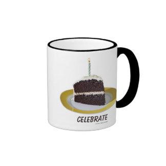 Piece of Birthday Cake Coffee Mug