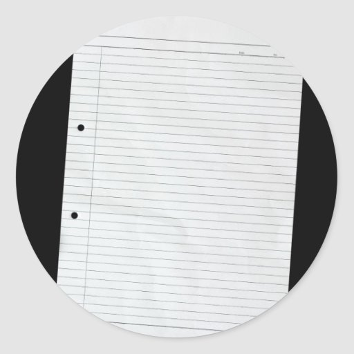 Blank piece of paper to write on