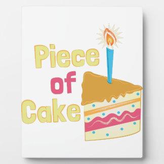 Piece Of Cake Plaque
