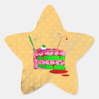 Piece Of Cake Star Sticker