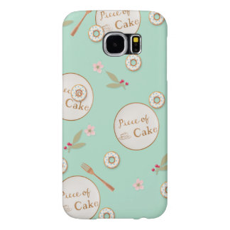 Piece of Cake Summer Desserts Samsung Galaxy S6 Case