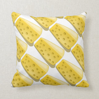 piece of cheese pattern throw pillow