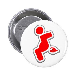Piece of flair. pinback button