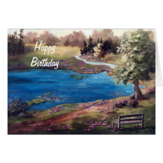 Piece of Heaven Birthday Card