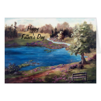 Piece of Heaven Father's Day Card