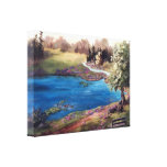 Piece of Heaven Wrapped Canvas Print