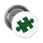 Piece of information 2 inch round button