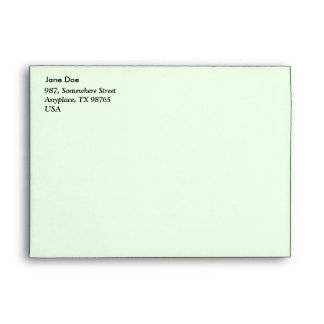Piece of information envelopes