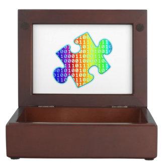 Piece of information keepsake box