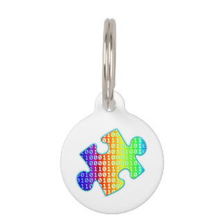 Piece of information pet tag