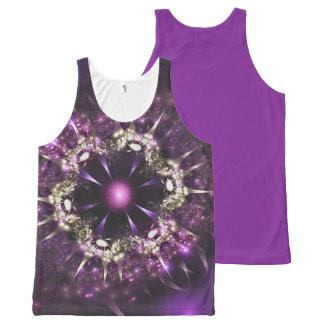 Piece of jewellery All-Over-Print tank top