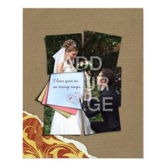 Piece of My Heart Wedding Poster Photo Enlargement