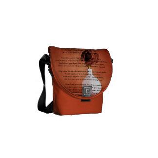 Piece of Paradise Courier Bag