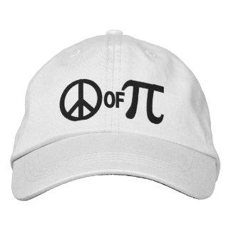 Piece of pi geek humor cap