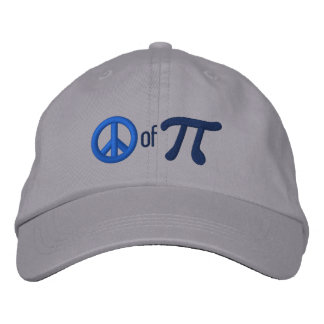 Piece of Pie as in Peace of Pi Cap