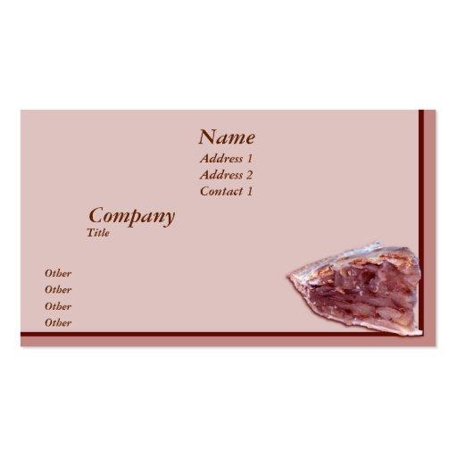 Piece of pie business cards