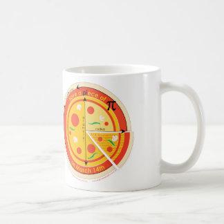 PIece of Pie on Pi Day mug Basic White Mug