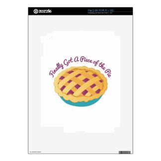 Piece Of Pie Skin For iPad 2