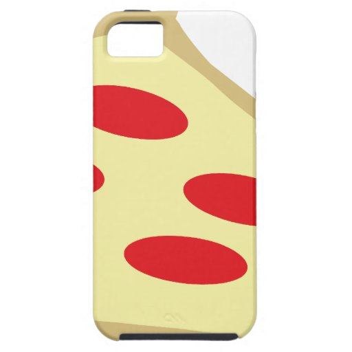 piece of pizza iPhone 5 cases