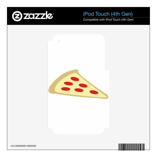 piece of pizza iPod touch 4G skin