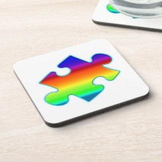 Piece of Rainbow Coaster