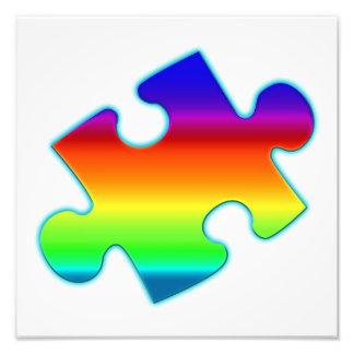Piece of Rainbow Photo Art