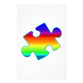 Piece of Rainbow Stationery