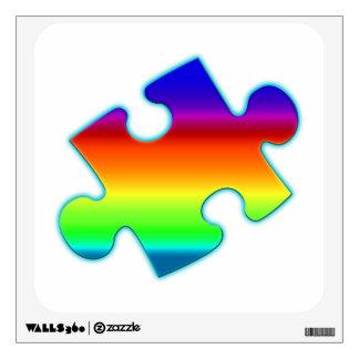 Piece of Rainbow Wall Decal