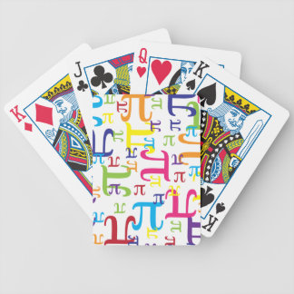 Piece of the Pi Bicycle Playing Cards