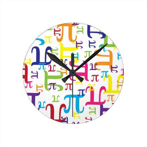 Piece of the Pi Wall Clocks