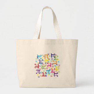 Piece of the Pi Large Tote Bag