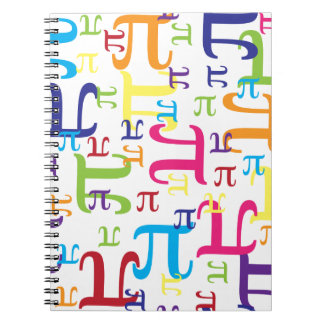 Piece of the Pi Spiral Note Book